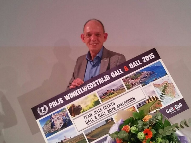 2e plaats beste Gall & Gall winkel van Nederland